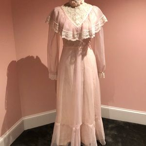 Vintage 70s gown